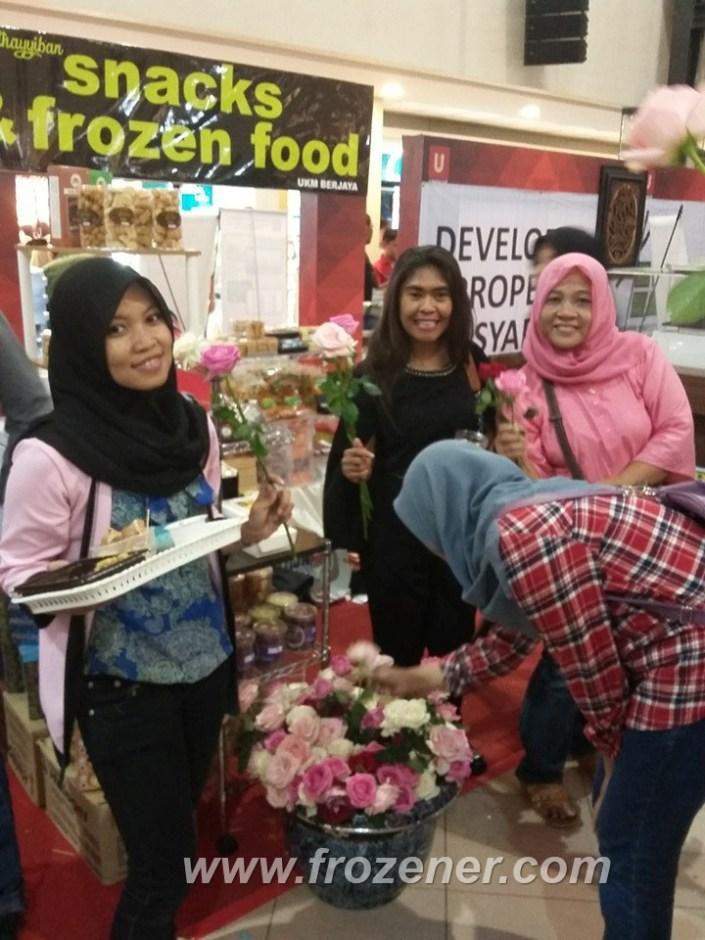 gimmick bunga pasar ummat