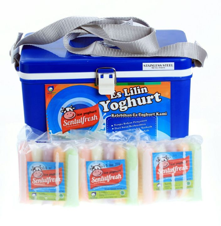 es lilin yoghurt packaging